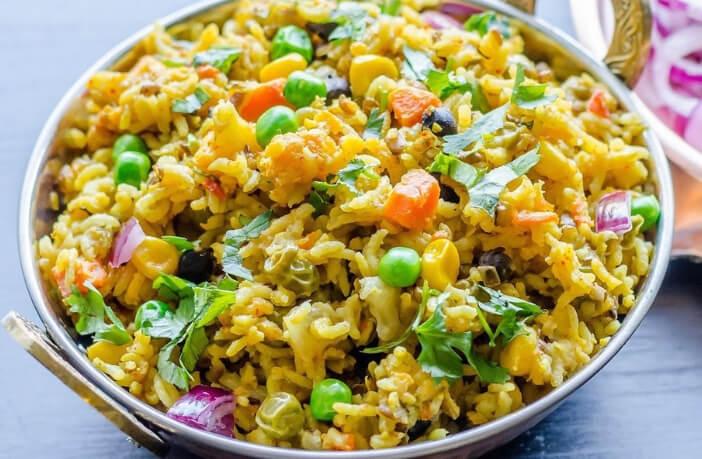 सब्जी वाली खिचड़ी (Vegetable Khichdi Recipes in Hindi)