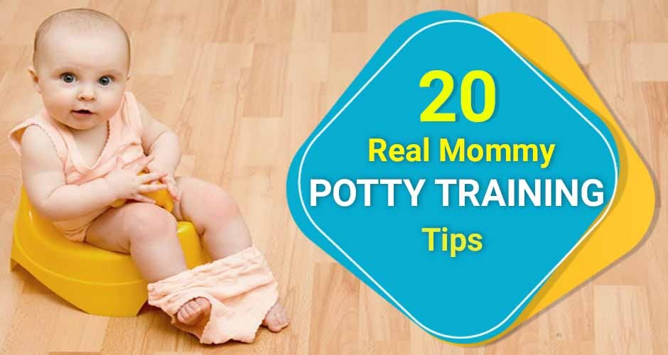 20 Best Potty Training Tips From A Real Mommy