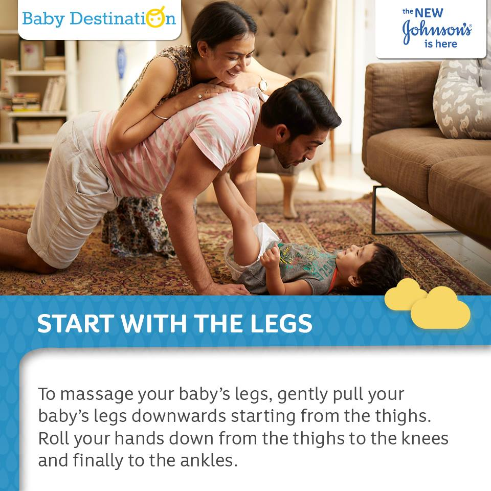 Easy Steps To Massage Your Baby