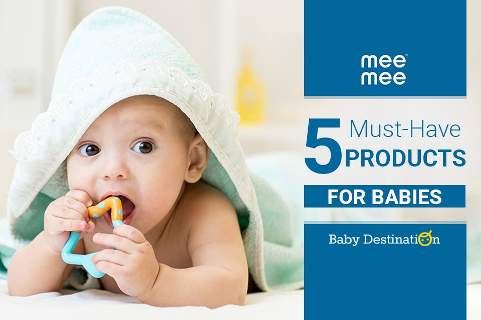 5 Must-Have Products For Babies