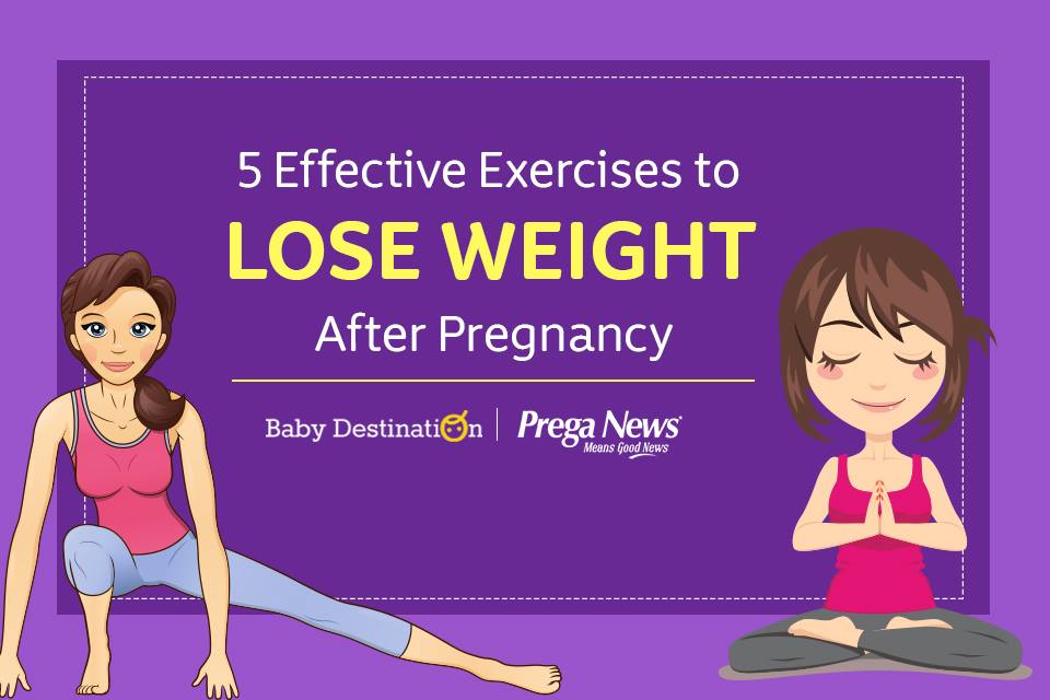 6 most effective Exercises to lose weight after pregnancy