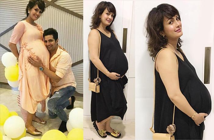 Nisha Rawal's Maternity Photoshoot