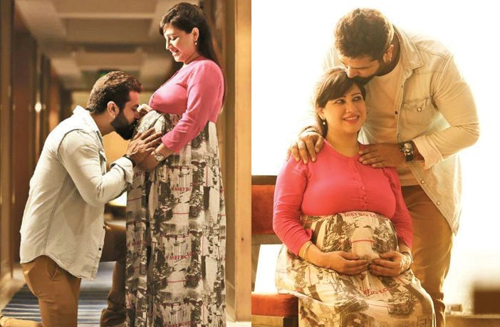 Maternity Photoshoot of Pooja Joshi)