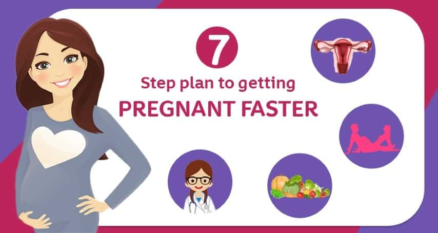 7 Step Plan To Getting Pregnant Faster