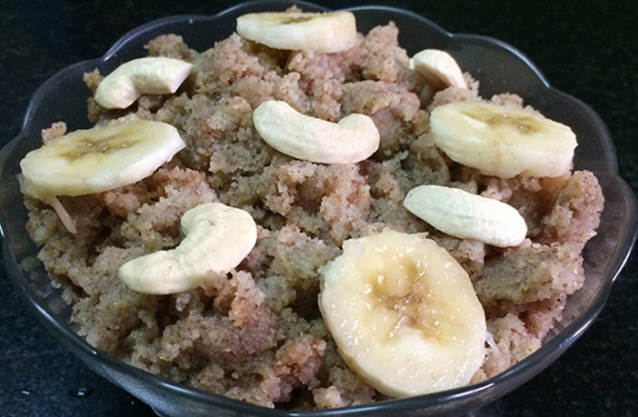 Kela Ragi Halwa Recipes