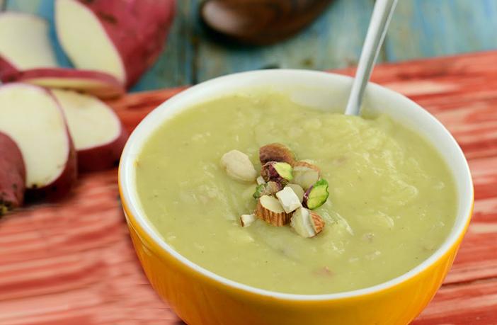 शकरकंद का हलवा (Easy Sweet Potato Halwa Recipe)
