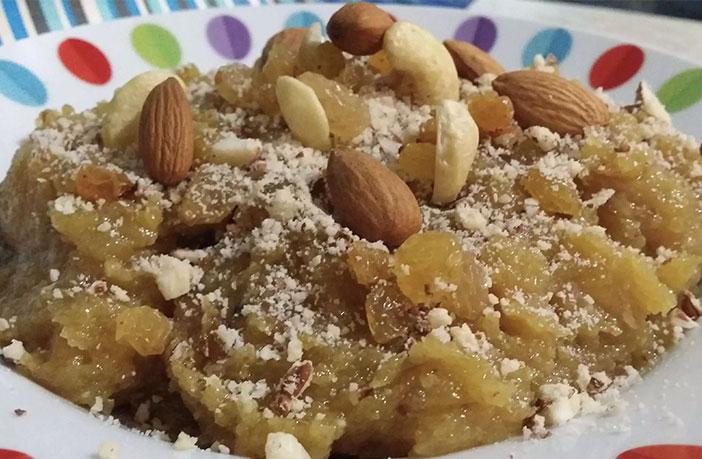 मेवे का हलवा (Dry Fruit Halwa)