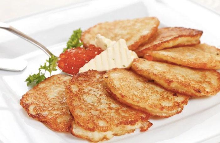 आलू पैन केक (Potato Pan Cake Recipe)