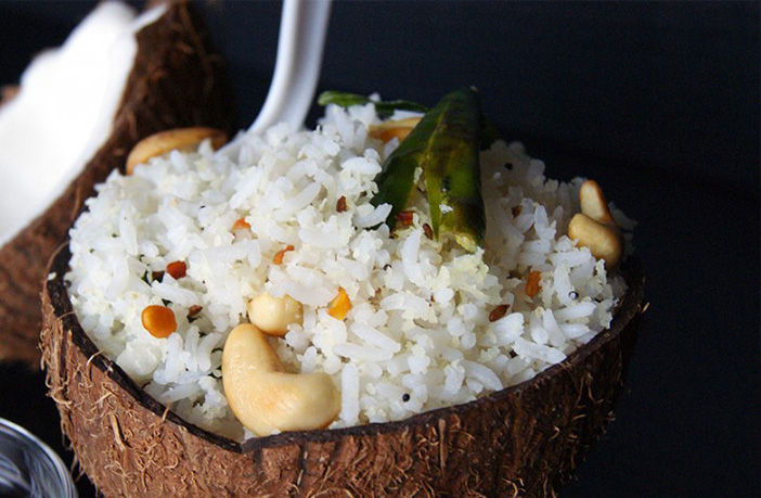 नारियल चावल (Coconut Rice)