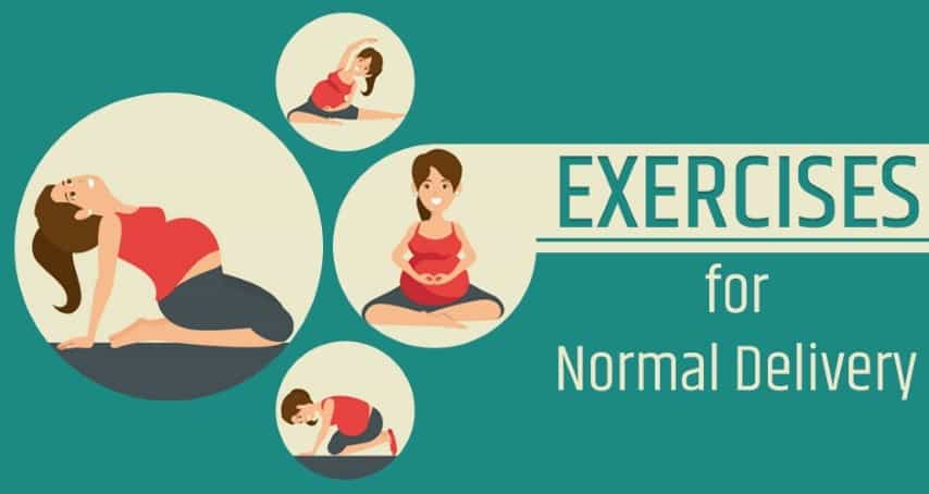 Safe And Easy Exercises For Normal Delivery