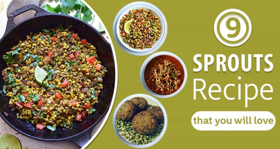 9 Yummy Sprouts Recipes that you will love