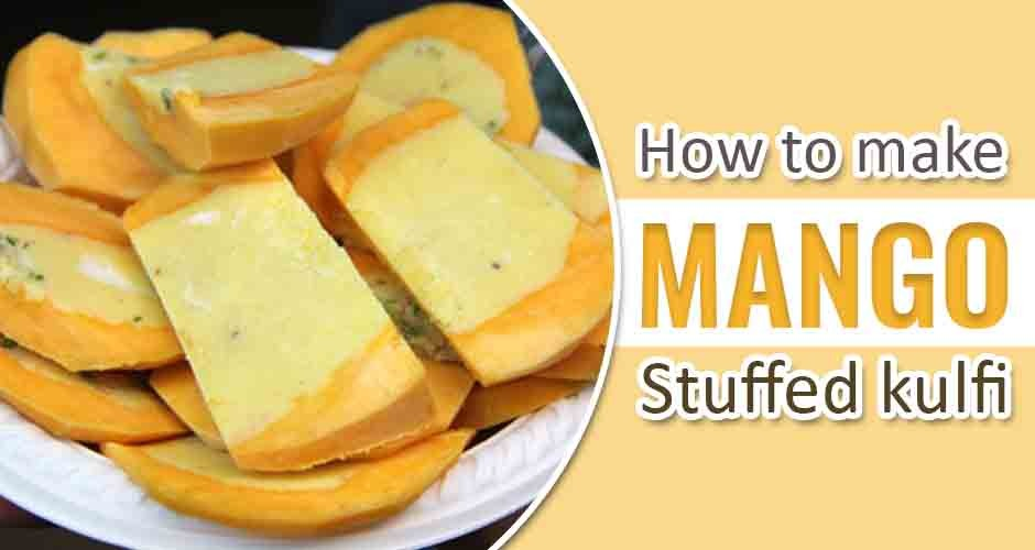 How To Make Mango Stuffed Kulfi: A Step-By-Step Guide