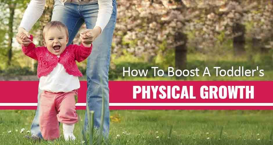 How To Encourage Your Toddler's Physical Development