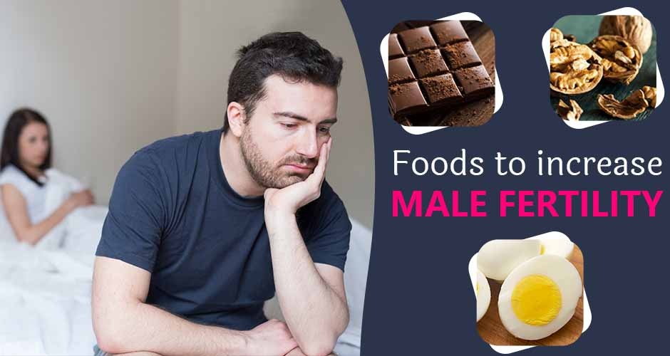 What is Male Fertility and Best Foods to Increase Male Fertility or Sperm  Count