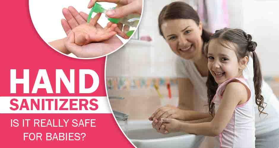 Are Hand Sanitizers Safe For Children?