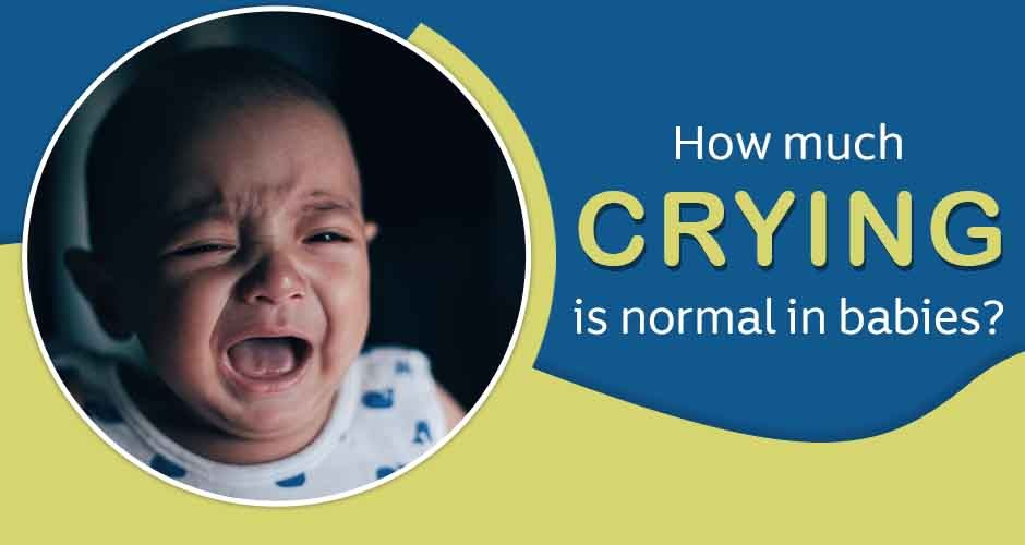 How Much Crying Is Normal In Babies?