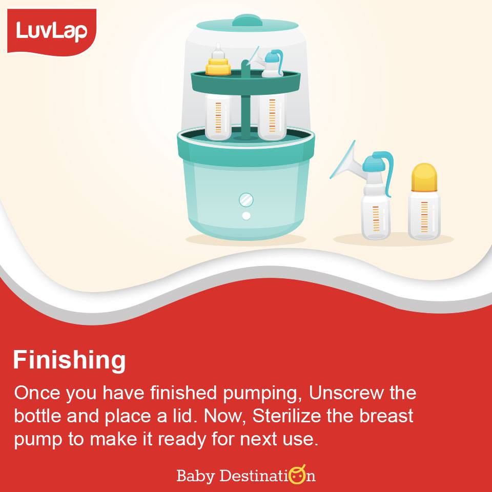 5 Steps To Use Breastpumps