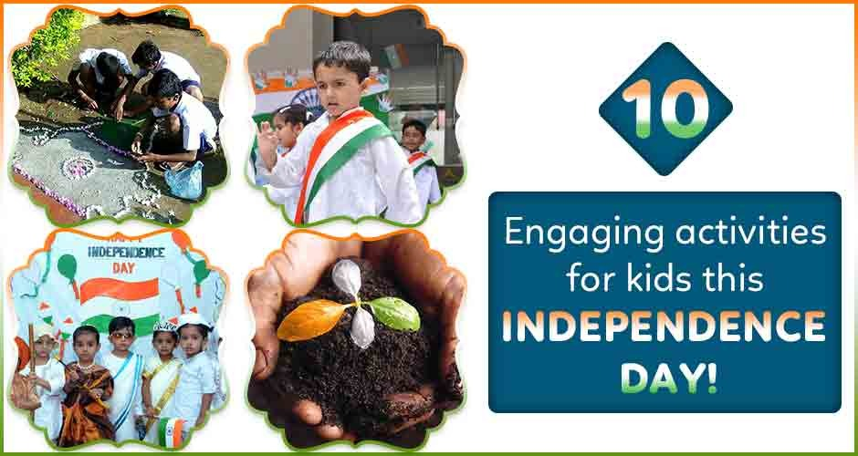10 Engaging Activities For Kids, This Independence Day!