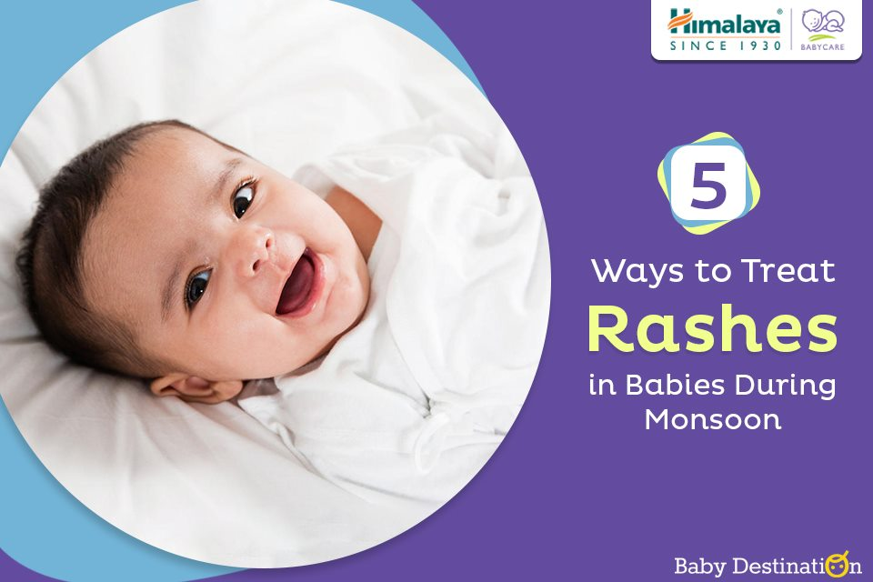 5 Ways To Treat Rashes In Babies During Monsoon