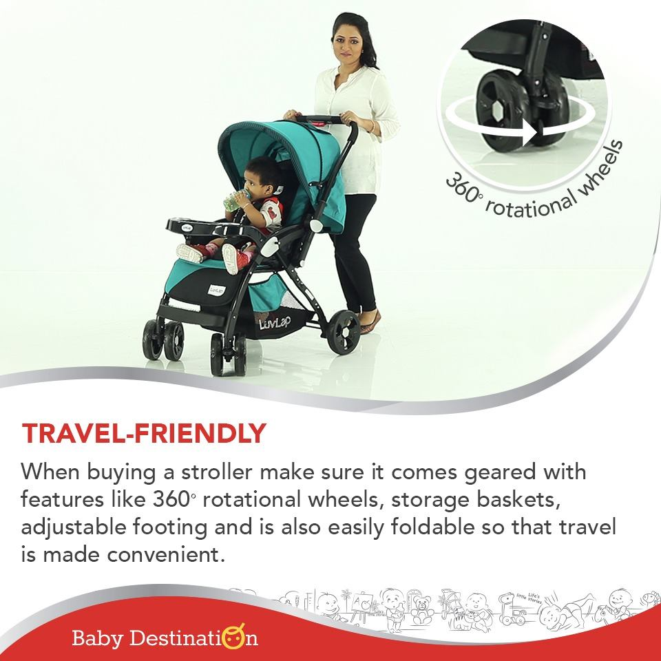 5 Benefits Of Using Strollers