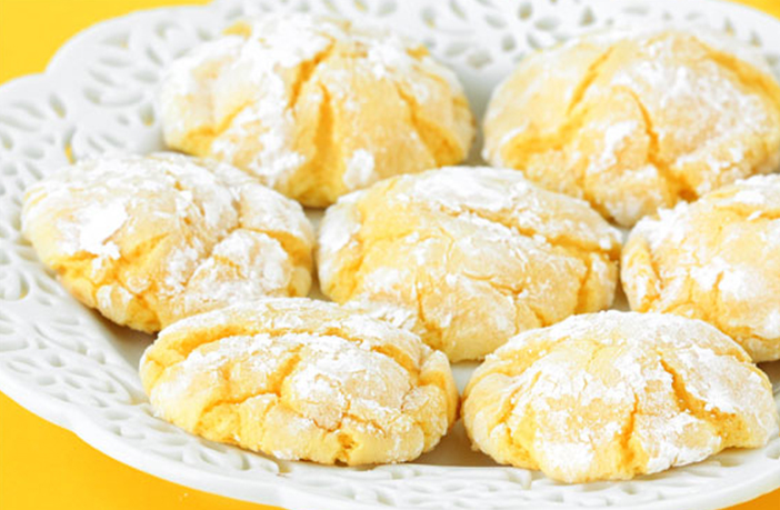 Lemon And Olive Oil Cookies