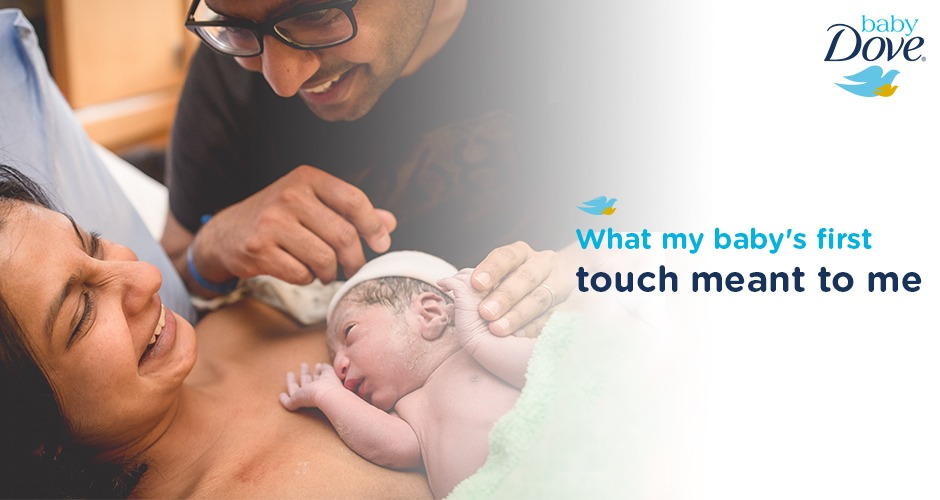 What my baby's first touch meant to me - My story