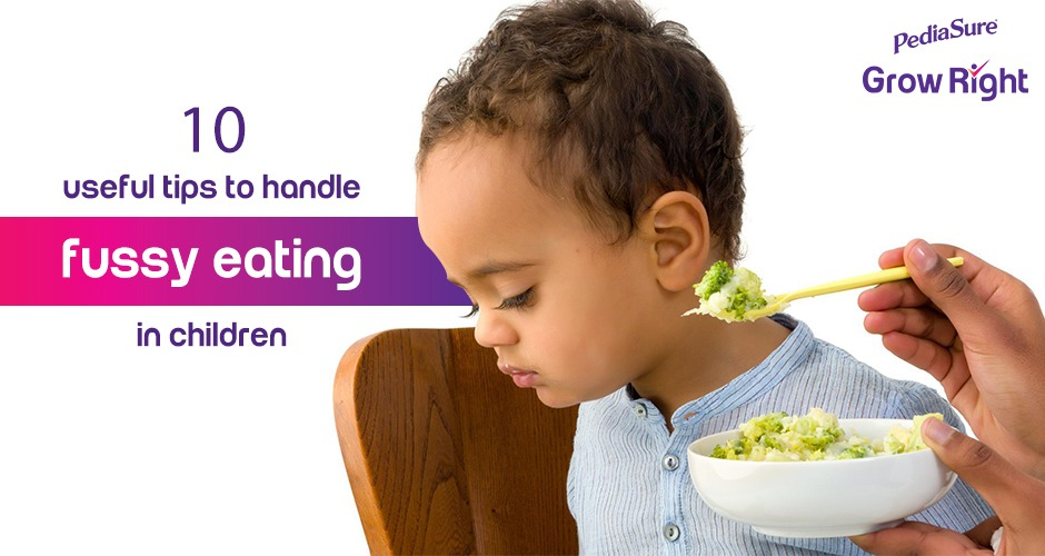 9 Useful Tips To Handle Fussy Eating In Children