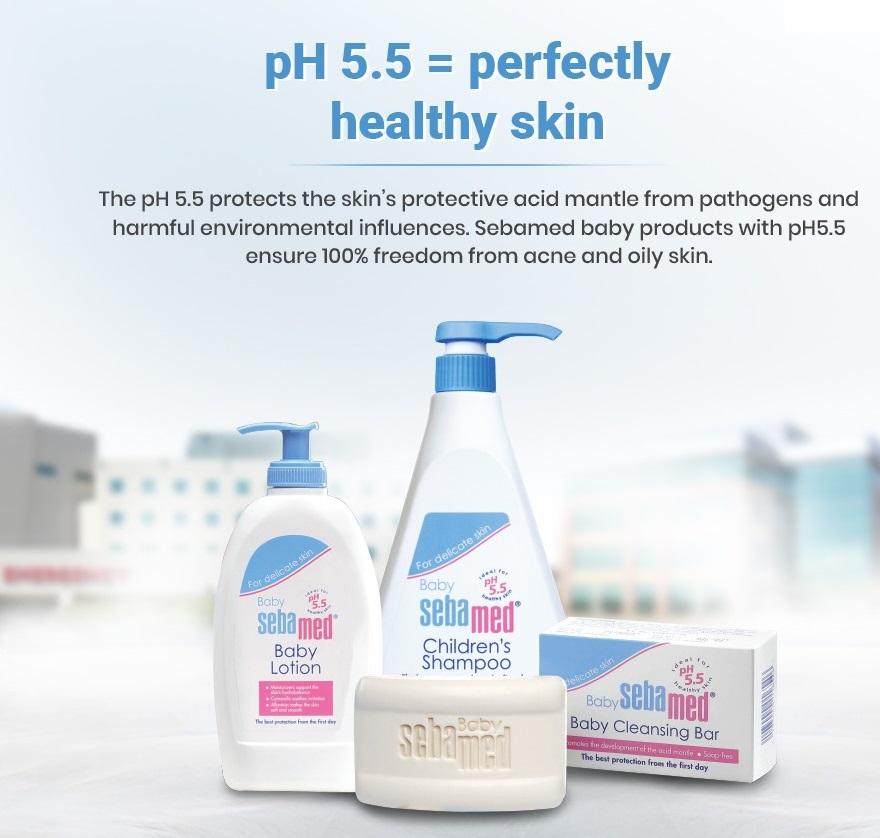 Use of pH 5.5