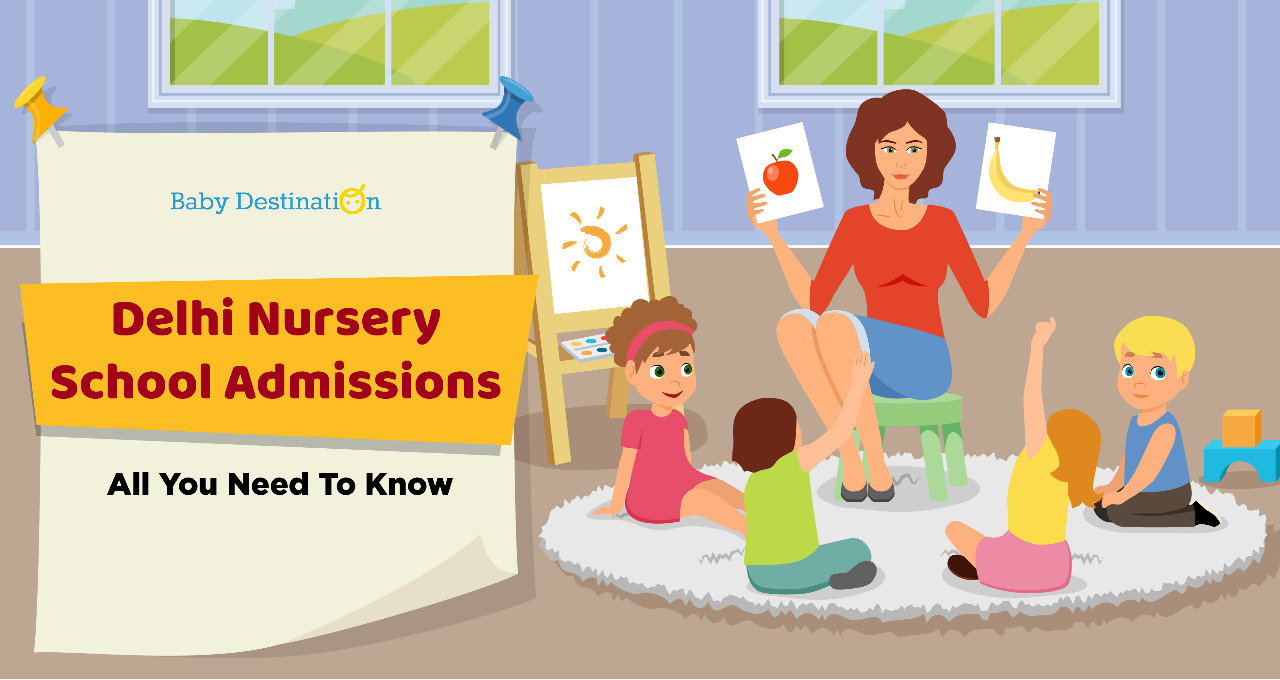 Delhi Nursery School Admissions: All You Need To Know